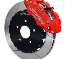 Wilwood Brakes Forged Narrow Superlite 6R Big Brake Front Brake Kit (Hat) 140-8922-R