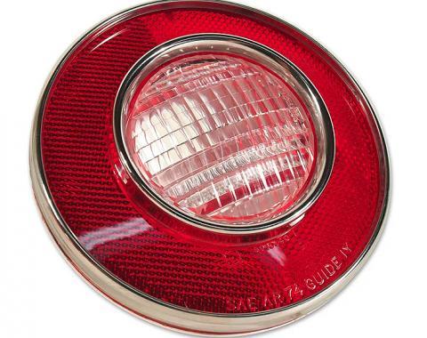 Trim Parts 74 Corvette Back Up Light Lens Assembly, Each A5823