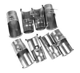 Corvette Spark Plug Shields, Big Block 8 Piece Set, 1965-1966