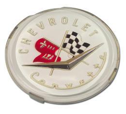Corvette Emblem, Front & Rear, 1956-1957
