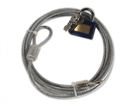 Car Cover Cable with Lock