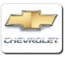 Chevrolet Mouse Pad, Gold Bowtie