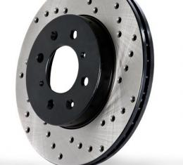 Stop Tech / Power Slot 128.62059L, Brake Rotor, SportStop (R) Drilled, One Piece Design, Wheel Bolt Pattern 5 x 120.6 Millimeter, 324.9 Millimeter Outside Diameter x 45.4 Millimeter Height x 32.1 Millimeter Nominal Thickness