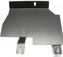 Corvette Firewall Splash Shield, Metal Right with Air Conditioning, 1969-1972