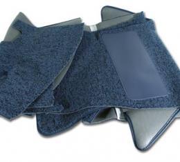Corvette Carpet, Tuxedo, Blue (07), 1959-1960