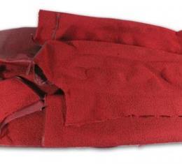 Corvette Carpet, Red Convertible                 30, 1965-1966