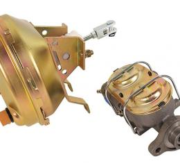 Corvette Power Brake Booster, with Master Cylinder, 1964-1967