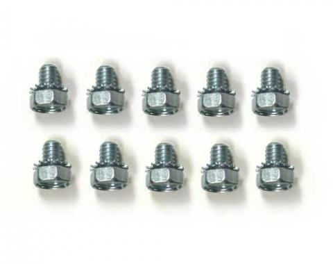 Corvette Timing Chain Cover Bolts, 10 Piece Set, 1962-1982