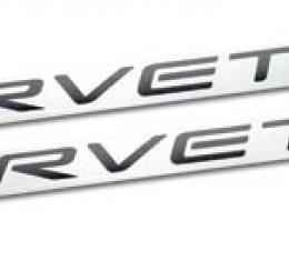 Corvette Fuel Rail Cover Letter Set, 1999-2004