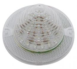 United Pacific 26 LED Backup Light Lens, Clear For 1960-61 Chevy Passenger Car CBL6051
