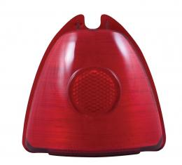 United Pacific Plastic Upper Stop Tail Light Lens For 1953 Chevy Passenger Cars C4006