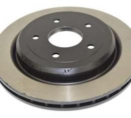 Corvette Brake Rotor, Rear (Except Z06), 2005-2013
