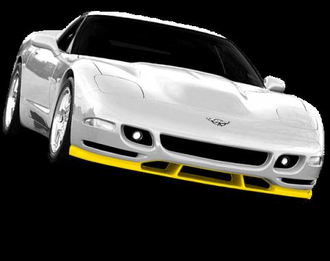 Corvette Tiger Shark Front Chin Spoiler, Urethane Primer, 1997-2004