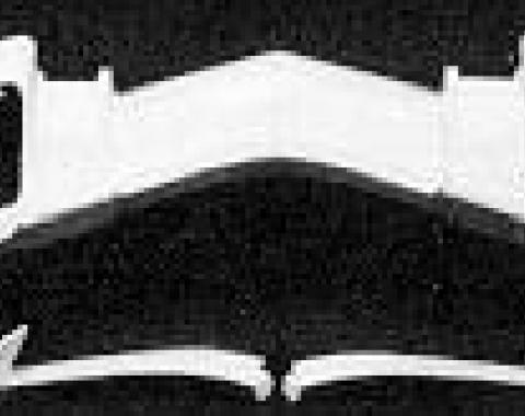 Corvette Lower Valance Panel, Hand Laid, ACI, 1968-1972
