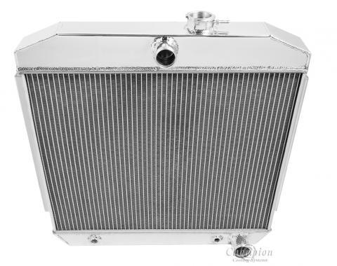 Champion Cooling 3 Row All Aluminum Radiator Made With Aircraft Grade Aluminum CC5057B-BLK