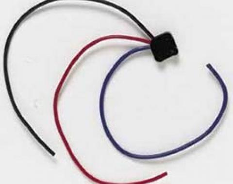 Corvette Power Window/Headlight Opening Switch, Wiring Harness Repair Pigtail, 1963-1982