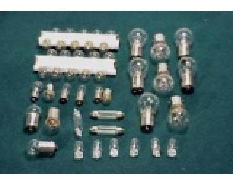 Corvette Light Bulb Kit, 47 Piece, 1974-1976