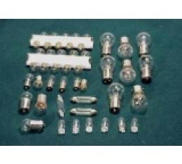 Corvette Light Bulb Kit, 47 Piece, 1974-1976