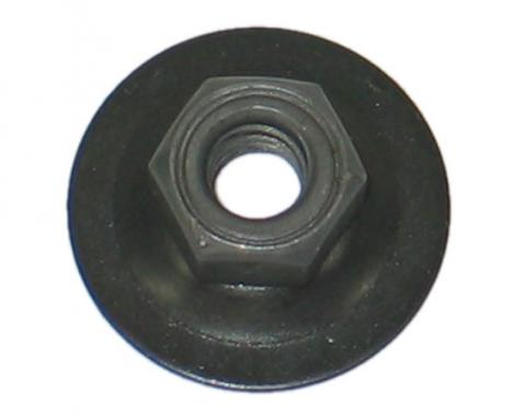 Corvette Door Glass Channel and Guide Roller Nut, 1969-1982