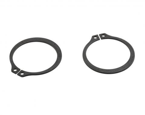 Corvette Differential Side Yoke Retaining Rings, 1980-1982