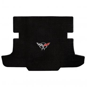 Lloyd Mats 1997-2004 Chevrolet Corvette Corvette 1997-2004 Coupe Cargo Mat Black Ultimat C5 Logo 600017