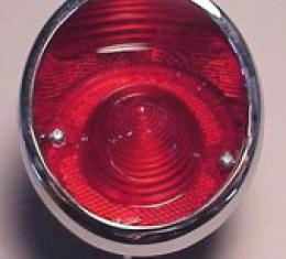 Corvette Inboard Taillight Assembly, Right, 1963-1967