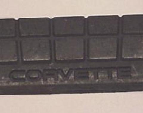 Corvette Brake Pedal Pad, Automatic Transmission, 1984-1996