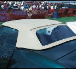 Corvette Convertible Top, OEM, White, 1968-1975