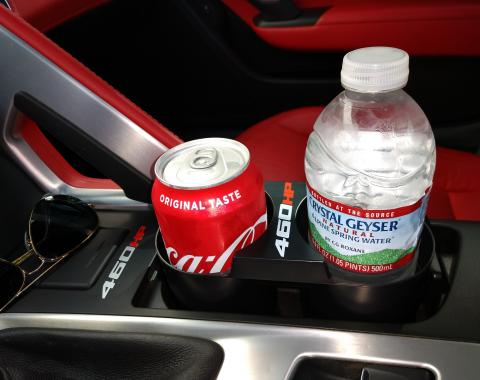 Stop Flop C7 Cup Holder, with 460HP Logo