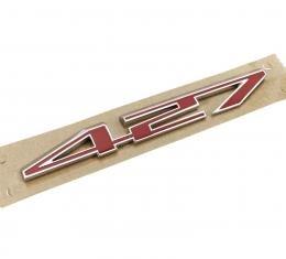 Corvette Hood Emblem, Replacement, 427
