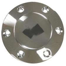 Volante S6 Series Horn Button, Chrome