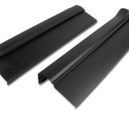 Corvette Sill Ease Protectors, Black, Without Letters, 2005-2013