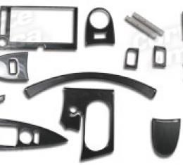 Corvette Dash Kit - Carbon Fiber 15Pc, 2005-2013