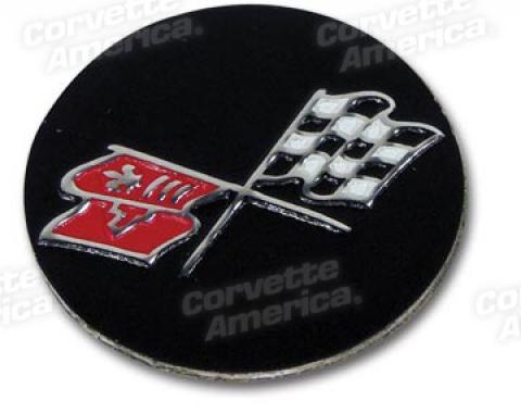 Corvette Cupkeeper Emblem, 1968-1982