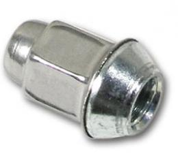 Corvette LugNut, Chrome Stainless Steel Cap, GM Replacement, 1984