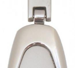 Corvette Key Fob, Chrome Tear Drop Style, with C3-C6 Logo