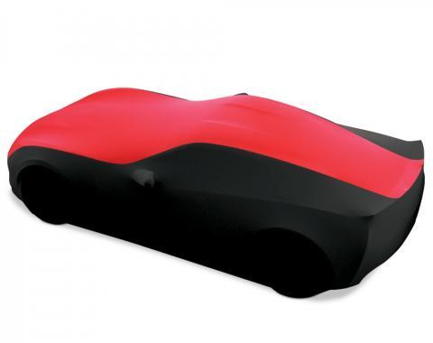 Corvette Ultraguard Sport Stretch Satin Two-Tone Indoor Car Cover, 2014-2019