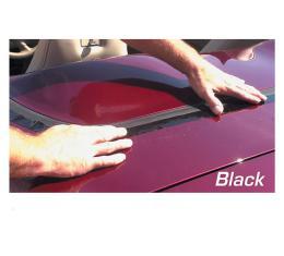 Corvette Deck Lid Protector, Hardtop Black, 1968-1975