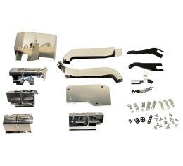 Corvette Ignition Shield Set, 327 34 Piece, 1968