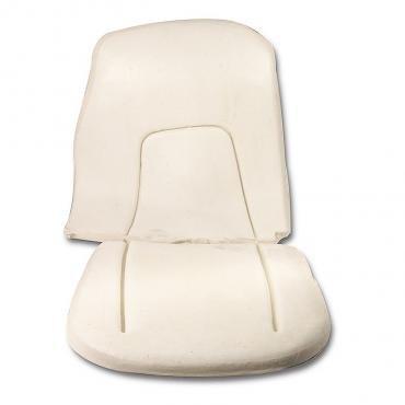 Corvette Seat Foam, 4 Piece Set, 1956-1957