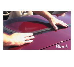 Corvette Deck Lid Protector, Softtop Black, 1963-1967