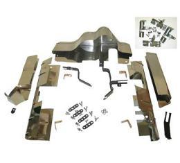 Corvette Ignition Shield Set, Fuel Injection, 27 Piece, 1958-1959