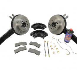 Corvette Rear Drum to Disc Brake Conversion Kit, 1963-1964