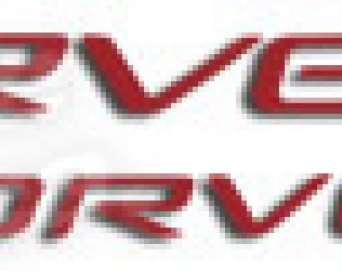 Corvette Corvette Lettering Kit, Front & Rear, 1997-2004