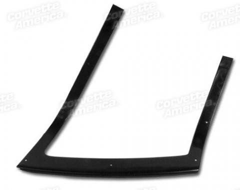Corvette Rear Window Trim, Coupe Inner Right, 1964-1967