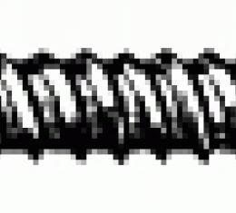 "Chrome Screw #8 X 1"" #6 Head"