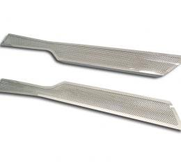 Corvette Full Length Outer Doorsills Perforated 2Pc 2005-2013 C6
