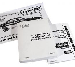 Corvette Service Manual, 1978