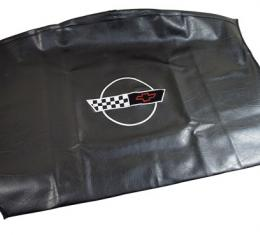 Corvette America 1984-1996 Chevrolet Corvette Embroidered Top Bag Black with 91 96 Logo 41619