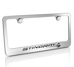 Corvette Elite License Frame, C7 Stingray Script & Logo
